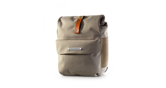 Brooks Norfolk Front Travel Panniers dove